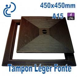 Tampon Léger en Fonte 450x450mm