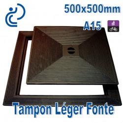 Tampon Léger en Fonte 500x500mm
