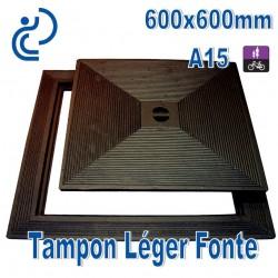 Tampon Léger en Fonte 600x600mm