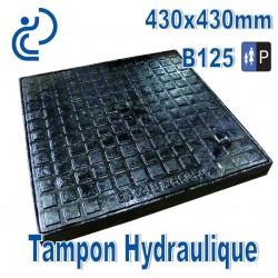Tampon Hydraulique en Fonte 430x430mm B125