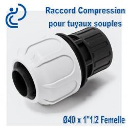 "RACCORD BDFAST A COMPRESSION 40x1""1/2 F"