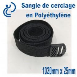 Sangle de cerclage Polyéthylène 1020mm x 25mm