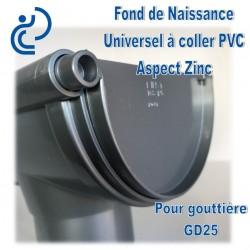 FOND DE NAISSANCE UNIVERSEL EN PVC ASPECT ZINC