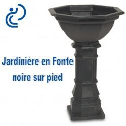 Jardini re traditionnelle en fonte sur pied - Jardiniere en fonte ancienne ...