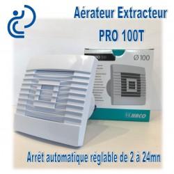 Aérateur Extracteur électrique D100 avec Arrêt Automatique