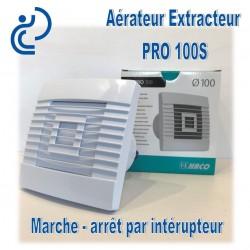 Aérateur Extracteur électrique D100 permanent
