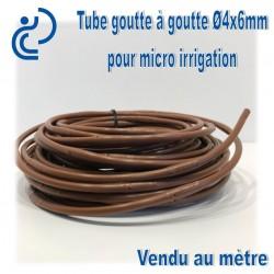 Tube goutte à goutte en 4x6 vendu au mètre linéaire
