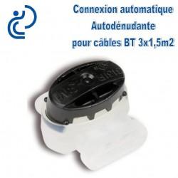 Connexion Autodénudante pour câbles basse tension 3x1.5mm2