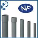 Tube PVC NF