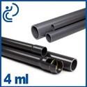 Tube PVC Pression en longueur de 4 mètres