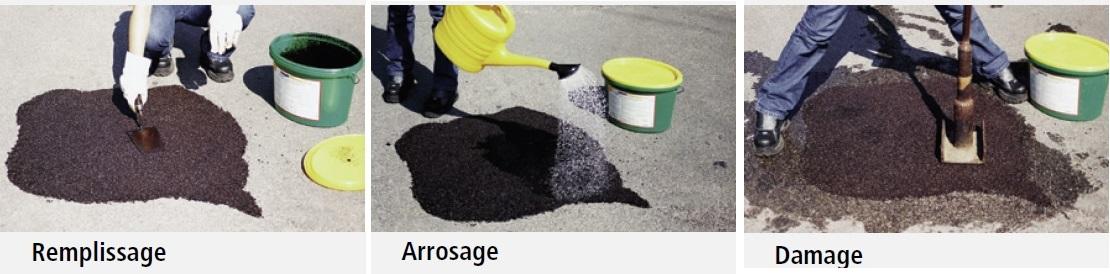 Enrob froid r actif l 39 eau sac de 14kg - Combien de sac de ciment pour 1m2 ...
