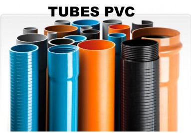 TUBES PVC PRESSION, EVAC, FORAGE, LST